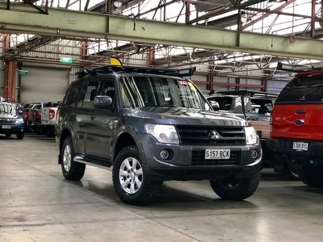 Used Mitsubishi Pajero NW MY14 GLX-R Mile End South, 2014 Mitsubishi Pajero NW MY14 GLX-R Grey 5 Speed Sports Automatic Wagon
