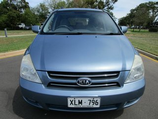 2006 Kia Grand Carnival VQ (EX) Blue 5 Speed Automatic Wagon