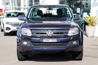 2016 Volkswagen Amarok 2H MY16 TDI420 4MOTION Perm Core Plus Blue 8 Speed Automatic Utility