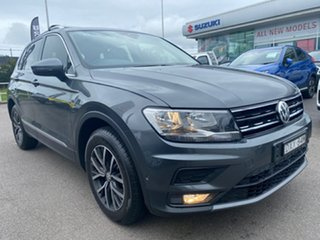 2018 Volkswagen Tiguan 5N MY18 110TDI DSG 4MOTION Comfortline Grey 7 Speed.