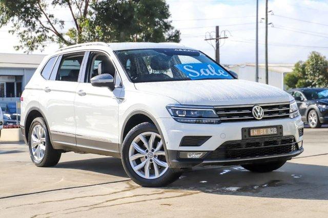 Used Volkswagen Tiguan 5N MY18 110TDI Comfortline DSG 4MOTION Allspace Kirrawee, 2018 Volkswagen Tiguan 5N MY18 110TDI Comfortline DSG 4MOTION Allspace White 7 Speed
