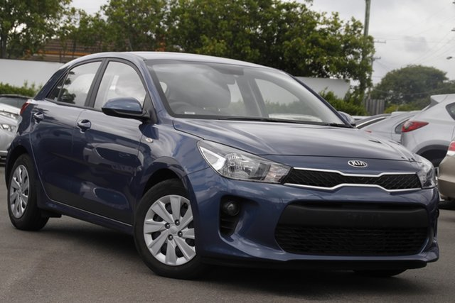 Used Kia Rio YB MY19 S Mount Gravatt, 2019 Kia Rio YB MY19 S Blue 4 Speed Sports Automatic Hatchback
