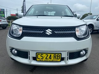 2019 Suzuki Ignis MF GL White 1 Speed Constant Variable Hatchback.