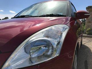 2014 Suzuki Swift FZ MY14 GL Navigator Red 5 Speed Manual Hatchback.