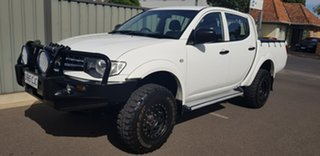 2013 Mitsubishi Triton MN MY12 GLX (4x4) 5 Speed Manual 4x4 Double Cab Utility.