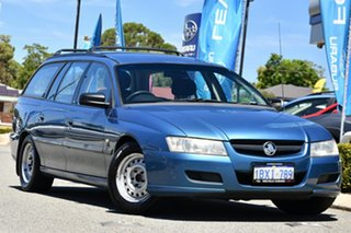 2005 Holden Commodore VZ Executive Blue 4 Speed Automatic Wagon.
