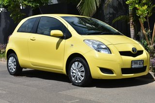 2009 Toyota Yaris NCP90R MY09 YR Yellow 5 Speed Manual Hatchback