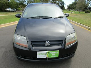 2008 Holden Barina TK MY09 Black 5 Speed Manual Hatchback.