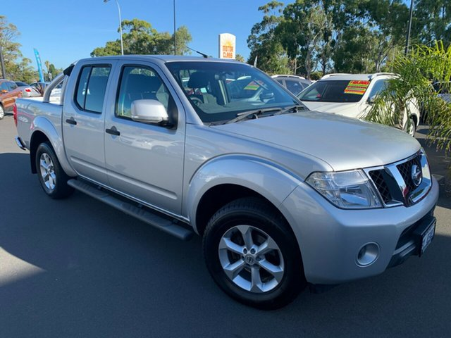 Used Nissan Navara D40 S6 MY12 ST Bunbury, 2012 Nissan Navara D40 S6 MY12 ST Silver 6 Speed Manual Utility