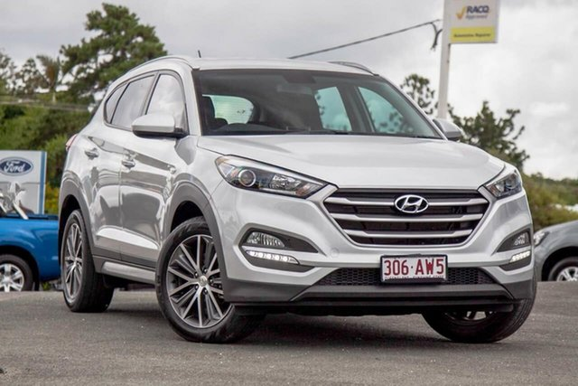 Used Hyundai Tucson TL MY17 Active X 2WD Gympie, 2016 Hyundai Tucson TL MY17 Active X 2WD Silver 6 Speed Sports Automatic Wagon