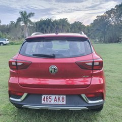 2018 MG ZS AZS1 MY19 Excite 2WD Burning Red Metallic 4 Speed Automatic Wagon