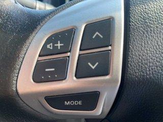 2013 Mitsubishi Lancer CJ MY13 ES Black 6 Speed Constant Variable Sedan