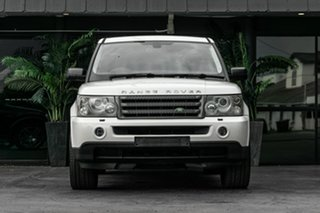 2008 Land Rover Range Rover Sport L320 08MY TDV6 White 6 Speed Sports Automatic Wagon.