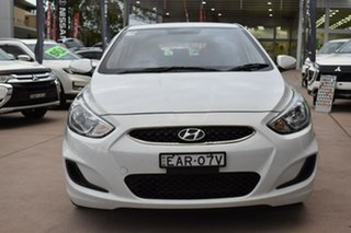 2019 Hyundai Accent RB6 MY19 Sport White 6 Speed Manual Hatchback