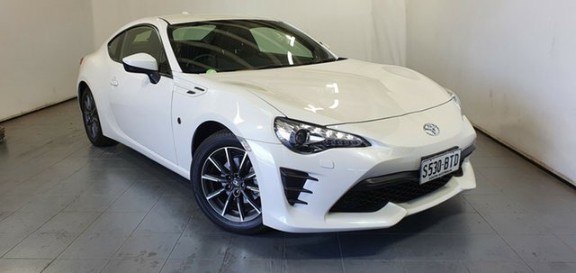 Used Toyota 86 ZN6 GT Elizabeth, 2017 Toyota 86 ZN6 GT Pearl White 6 Speed Sports Automatic Coupe