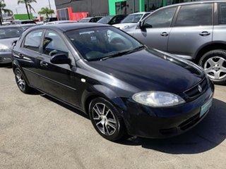 2007 Holden Viva JF MY07 Black 4 Speed Automatic Hatchback.
