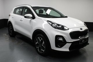 2019 Kia Sportage QL MY20 SX 2WD White 6 Speed Sports Automatic Wagon.