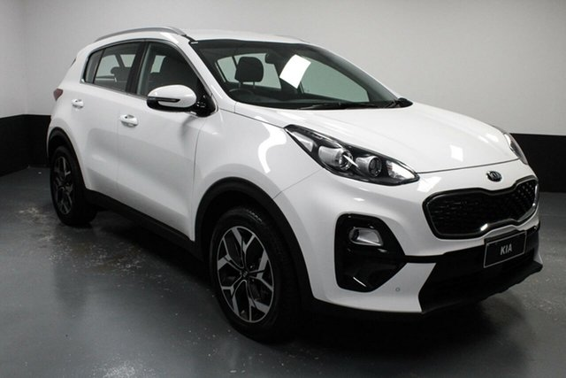 Used Kia Sportage QL MY20 SX 2WD Hamilton, 2019 Kia Sportage QL MY20 SX 2WD White 6 Speed Sports Automatic Wagon