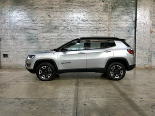 2017 Jeep Compass M6 MY18 Trailhawk Silver 9 Speed Automatic Wagon