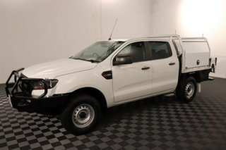 2016 Ford Ranger PX MkII XL Cool White 6 speed Automatic Cab Chassis