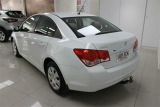 2011 Holden Cruze JH Series II CD White 6 Speed Sports Automatic Sedan