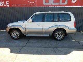 2005 Hyundai Terracan HP MY05 Highlander White 5 Speed Manual Wagon