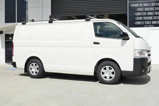 2017 Toyota HiAce KDH201R LWB White 5 Speed Manual Van.