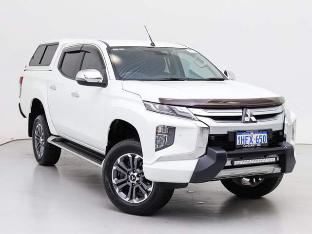 Used Mitsubishi Triton MR MY19 GLS (4x4), 2019 Mitsubishi Triton MR MY19 GLS (4x4) White 6 Speed Automatic Double Cab Pick Up