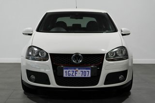 2009 Volkswagen Golf V MY09 GTI DSG White 6 Speed Sports Automatic Dual Clutch Hatchback.