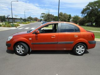 2006 Kia Rio JB EX Orange 5 Speed Manual Sedan