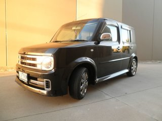 2005 Nissan Cube BZ11 Rider Black 4 Speed Automatic Wagon