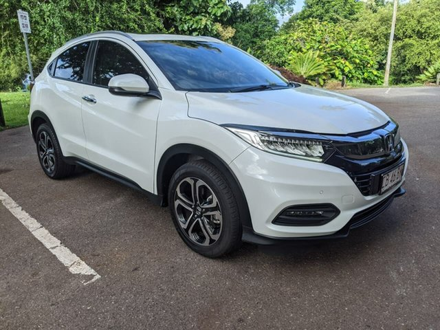 Used Honda HR-V MY20 VTi-LX Stuart Park, 2019 Honda HR-V MY20 VTi-LX White 1 Speed Constant Variable Hatchback