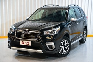 2020 Subaru Forester MY20 2.0E-L Hybrid (AWD) Black Continuous Variable Wagon.