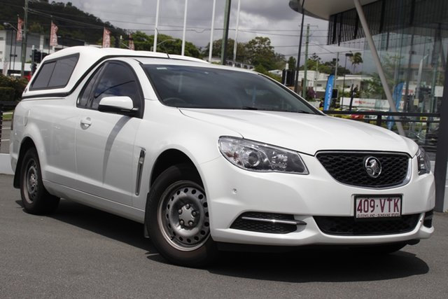 Used Holden Ute VF MY15 Ute Mount Gravatt, 2015 Holden Ute VF MY15 Ute White 6 Speed Sports Automatic Utility