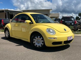 2009 Volkswagen Beetle 9C MY2008 Miami Coupe Yellow 6 Speed Sports Automatic Liftback.