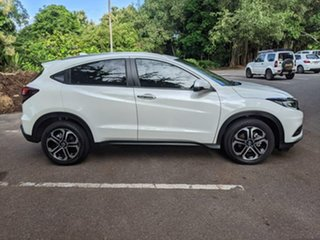 2019 Honda HR-V MY20 VTi-LX White 1 Speed Constant Variable Hatchback.