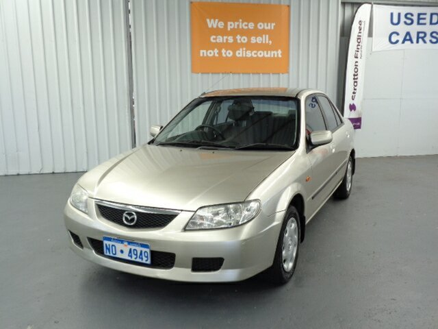Used Mazda 323 BJ II-J48 Protege Rockingham, 2003 Mazda 323 BJ II-J48 Protege Gold 5 Speed Manual Sedan