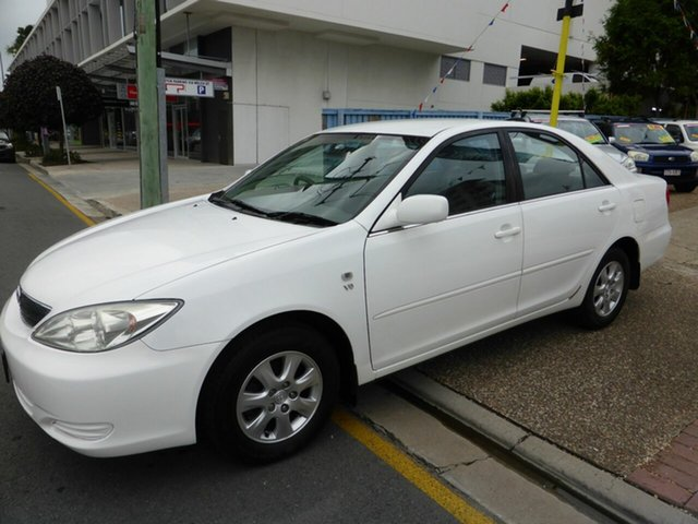 Used Toyota Camry MCV36R Ateva Southport, 2003 Toyota Camry MCV36R Ateva White 4 Speed Automatic Sedan