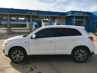2014 Mitsubishi ASX XB MY14 2WD White 6 Speed Constant Variable Wagon