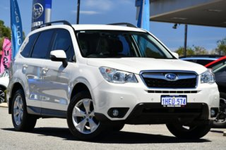 2012 Subaru Forester S4 MY13 2.5i-L Lineartronic AWD Satin White Pearl 6 Speed Constant Variable.