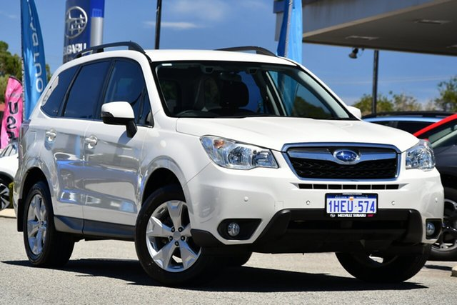 Used Subaru Forester S4 MY13 2.5i-L Lineartronic AWD Melville, 2012 Subaru Forester S4 MY13 2.5i-L Lineartronic AWD Satin White Pearl 6 Speed Constant Variable