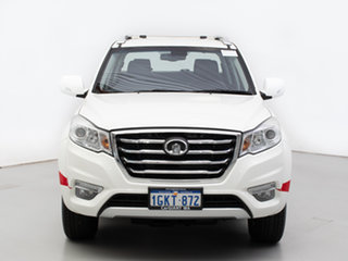 2014 Great Wall X200 CC6461KY MY11 (4x4) White 5 Speed Automatic Wagon.