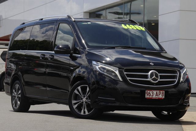 Pre-Owned Mercedes-Benz V-Class 447 V250 d 7G-Tronic + Avantgarde Woolloongabba, 2017 Mercedes-Benz V-Class 447 V250 d 7G-Tronic + Avantgarde Black 7 Speed Sports Automatic Wagon