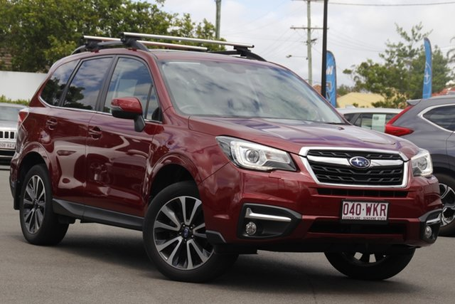 Used Subaru Forester S4 MY17 2.5i-S CVT AWD Mount Gravatt, 2016 Subaru Forester S4 MY17 2.5i-S CVT AWD Red 6 Speed Constant Variable Wagon