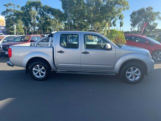 2012 Nissan Navara D40 S6 MY12 ST Silver 6 Speed Manual Utility