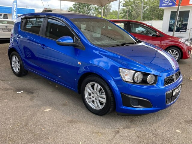 Used Holden Barina TM North Gosford, 2011 Holden Barina TM Blue 6 Speed Automatic Hatchback