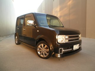 2005 Nissan Cube BZ11 Rider Black 4 Speed Automatic Wagon.