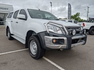 2016 Isuzu D-MAX MY15.5 SX Crew Cab White 5 Speed Sports Automatic Utility.
