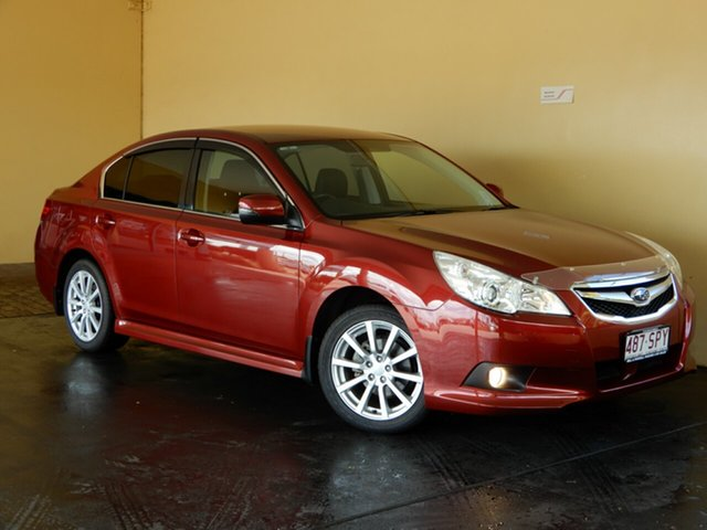 Used Subaru Liberty MY12 2.5I Toowoomba, 2012 Subaru Liberty MY12 2.5I Red Continuous Variable Sedan