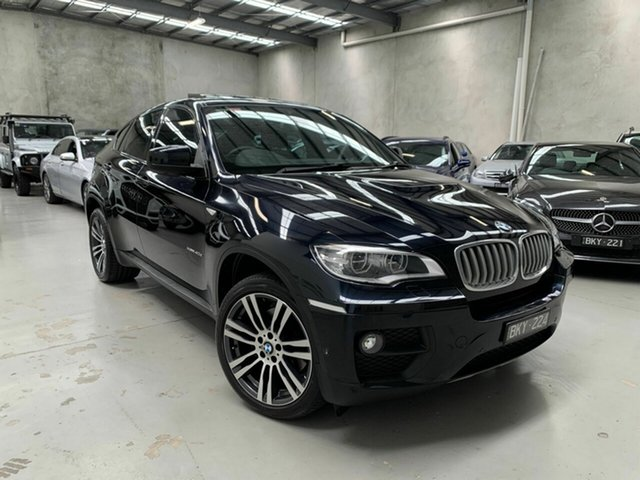 Used BMW X6 E71 LCI MY1112 xDrive40d Coupe Steptronic Coburg North, 2013 BMW X6 E71 LCI MY1112 xDrive40d Coupe Steptronic Black 8 Speed Sports Automatic Wagon